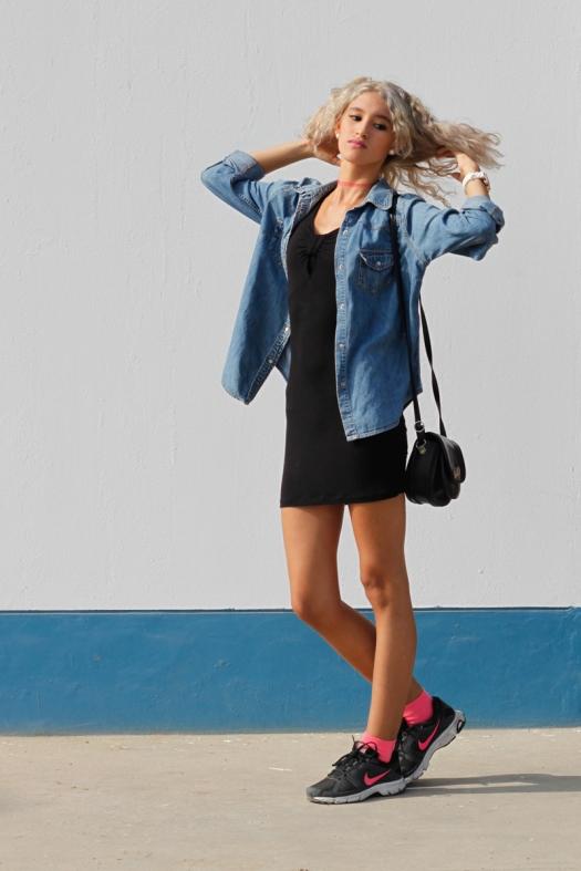 Black-Dress-with-socks