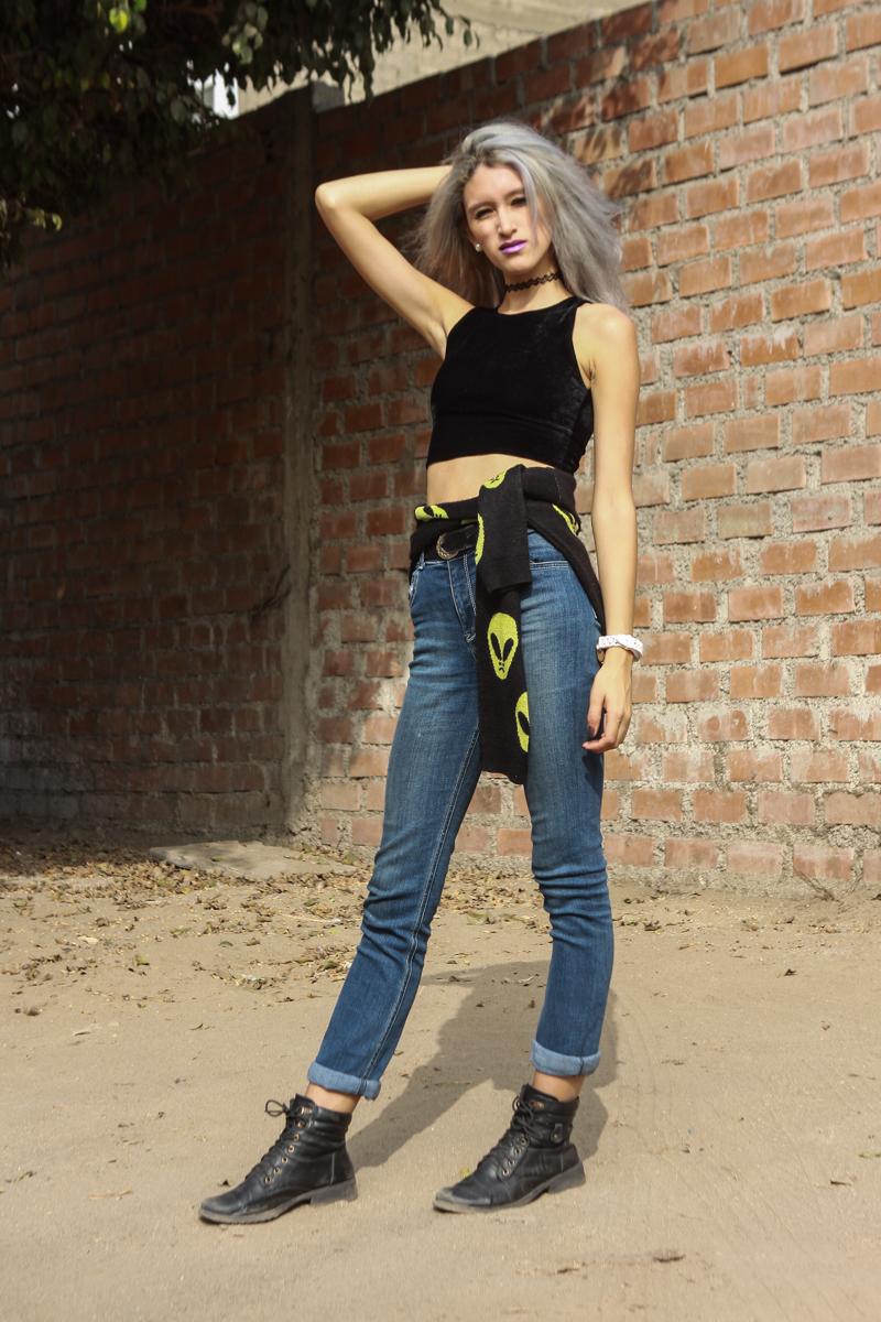 Jeans A La Cintura Dos Maneras De Combinarlos Delilac