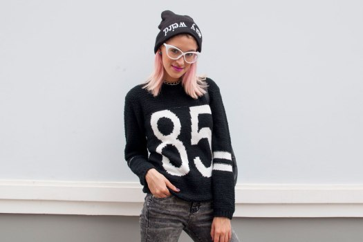 Chompas y beanies Now Lover DeLilac.