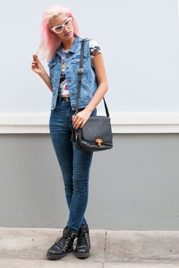 Denim on Denim Now Lover DeLilac 2