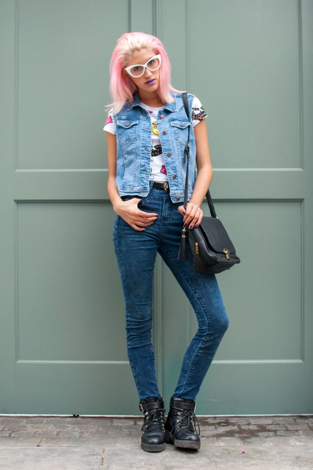Denim on Denim Now Lover DeLilac