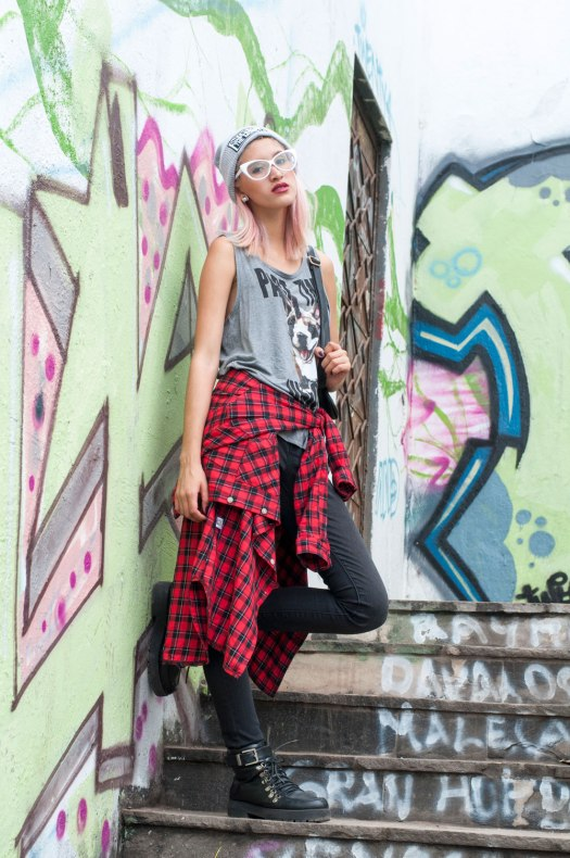 Grunge street style Now lover Delilac (1)