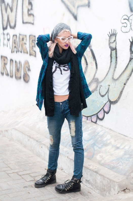 Jeans rasgados grunge style nowlover Delilac(1)
