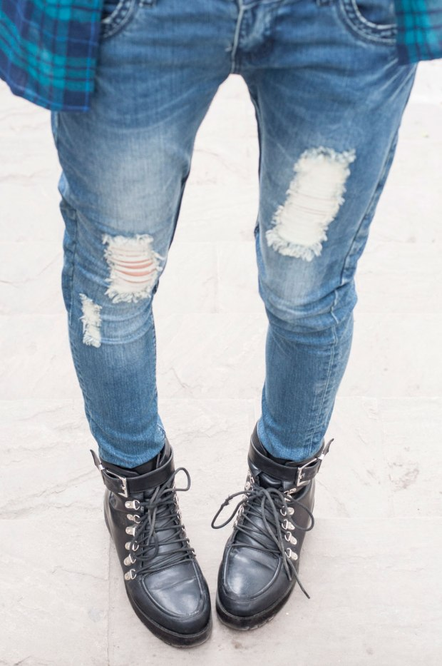 Jeans rasgados grunge style nowlover Delilac(2)