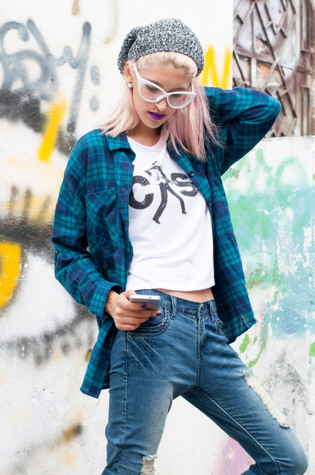 Jeans rasgados grunge style nowlover Delilac(4)