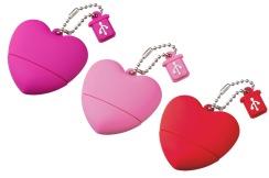 san valentin regalo usb corazon delilac