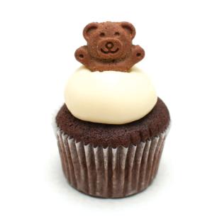san valentin teddy cupcake delilac