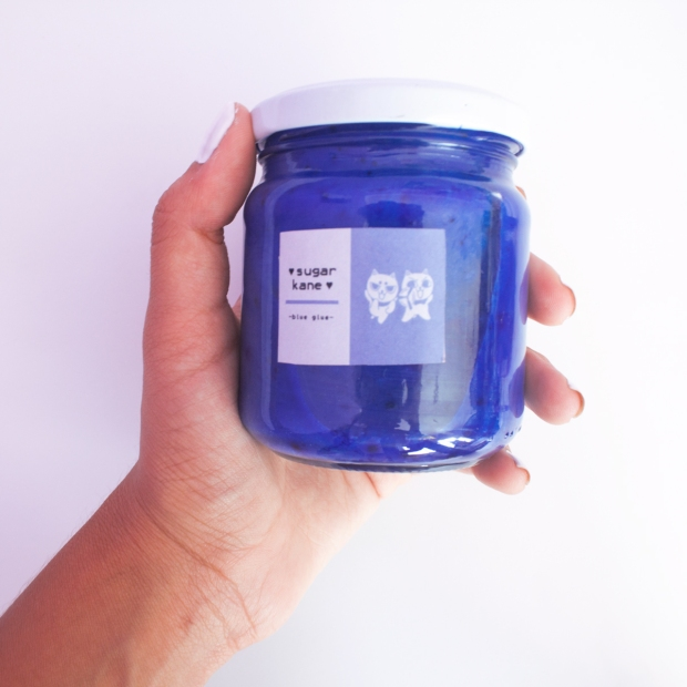 Blue Glue tinte vegano
