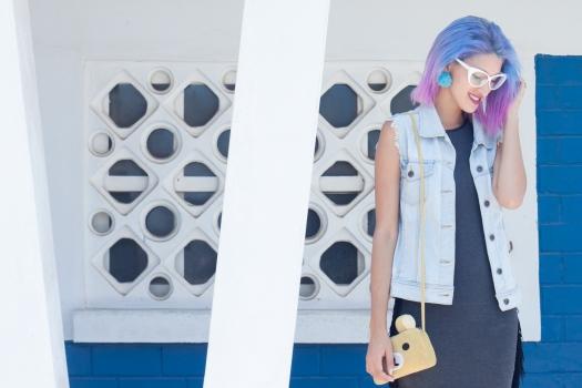Grunge dress and rilakkuma purse 4