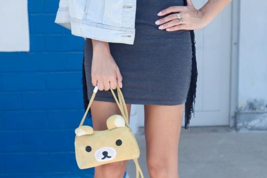Grunge dress and rilakkuma purse 7