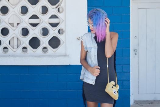 Grunge dress and rilakkuma purse 9