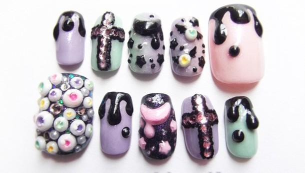 grunge nails