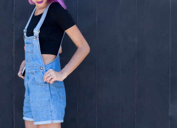 Overall Vintage Look 5