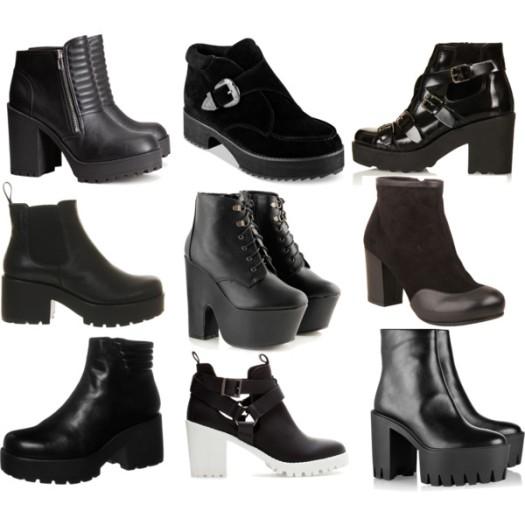 Ropa para otoño - Botines Chunky Boots.jpg
