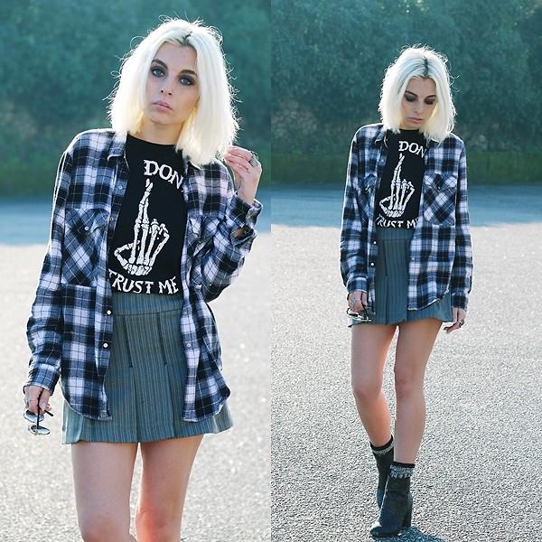 Ropa para otoño - Camisa a cuadros