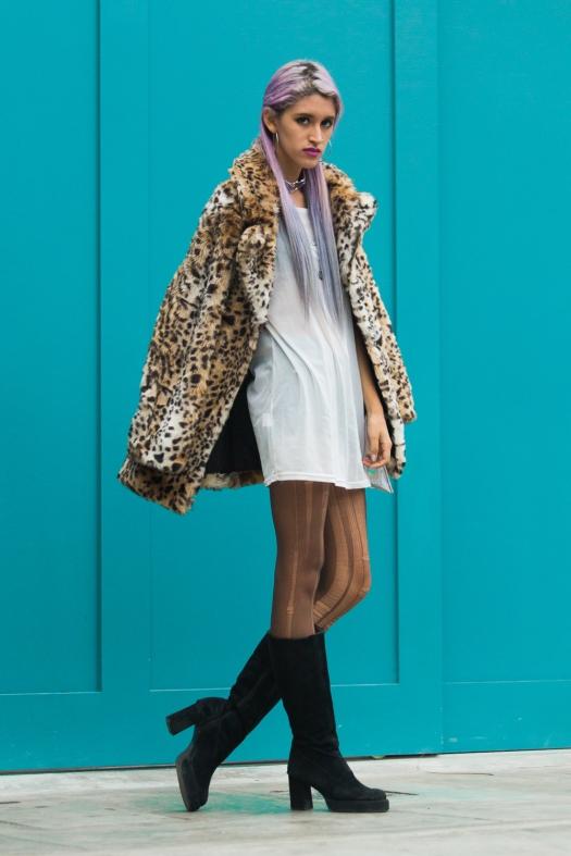 Leopard Faux Fur Coat Delilac  (12)