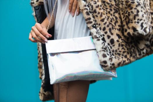 Leopard Faux Fur Coat Delilac  (8)