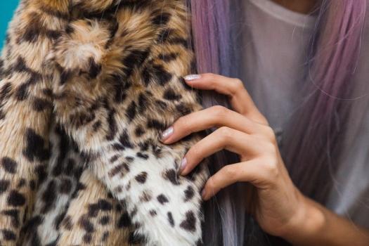 Leopard Faux Fur Coat Delilac  (9)