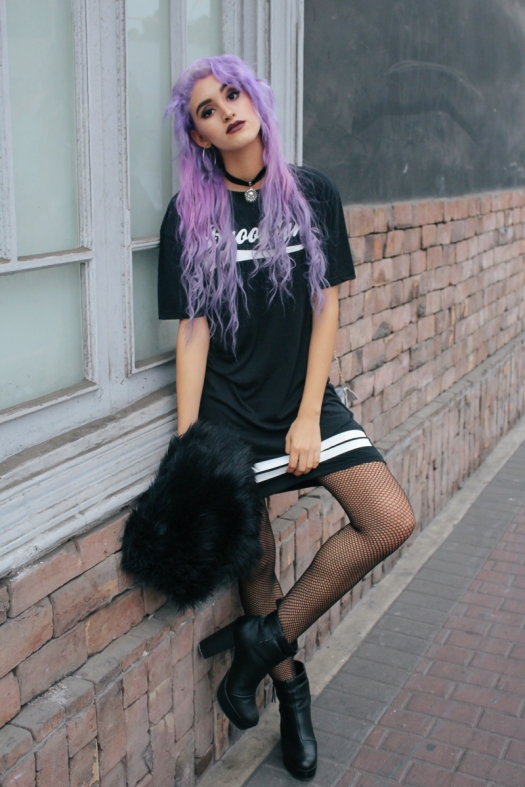 Brooklyn Urban Outfit Lilac Hair DeLilac Andrea Chavez (6)