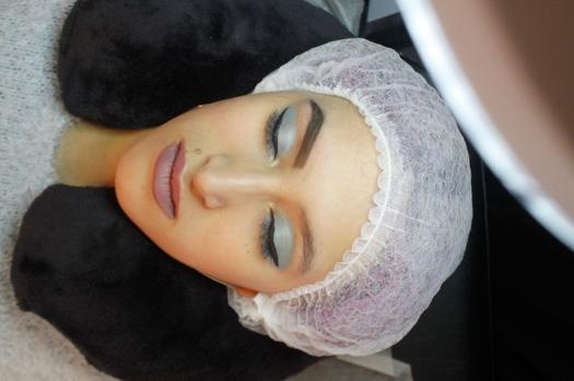 Cejas Kylie Jenner Tutorial por DeLilac - Tinte de cejas y cortado (21)