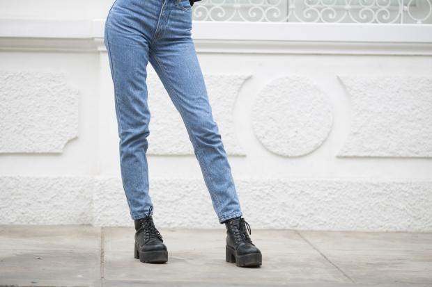 Jeans a la cintura vintage 90s delilac (2)