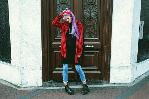 camisa-roja-cuadros-grunge-look-delilac-7