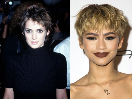winona-90s-pixie-hair-and-zendaya-pixie-cut