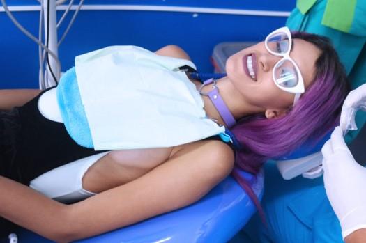 de visita al odonto odontologist