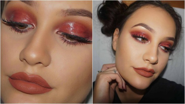 glossy lids makeup tendencia 2017