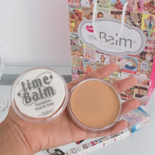 REVIEW THE BALM PERU - base Time Balm
