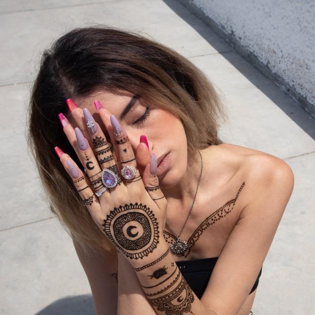 Henna Tattoo Peru Arabic Beauty Health