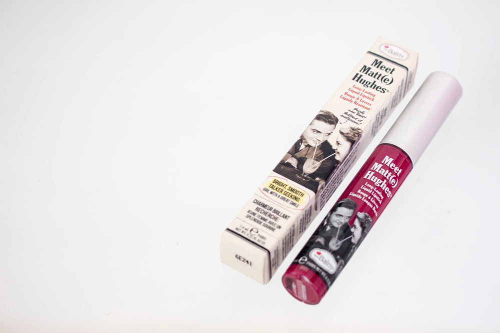 Labial Meet Matt(e) Hughes the balm review