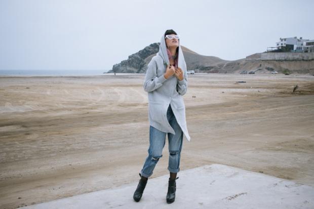 Oversized hoodie - gamarra look (3)