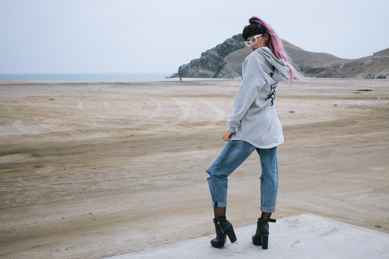 Oversized hoodie - gamarra look (4)