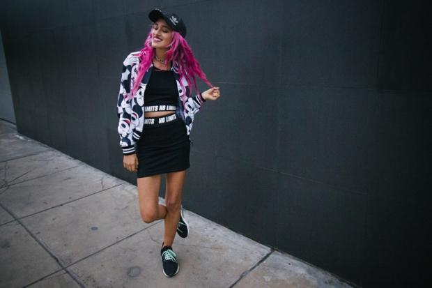 Street Style Lima Gamarra Sporty Chic Ropa Sublimada Ragazza - DeLilac (2)
