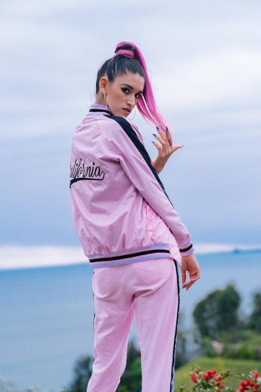 BLOCK COLOR Low Budget Studio - Pink sporty trend delilac (3)
