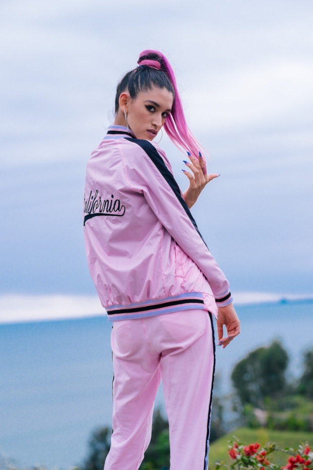 BLOCK COLOR Low Budget Studio - Pink sporty trend delilac (3)