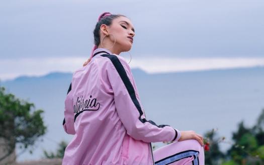 BLOCK COLOR Low Budget Studio - Pink sporty trend delilac (8)