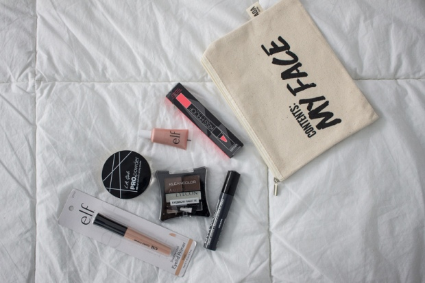 Makeup review haul elf, nyx, la girl, klean color, matte lipstick PERU (1)