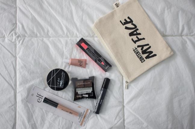 Makeup review haul elf, nyx, la girl, klean color, matte lipstick PERU (1)