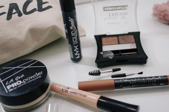Makeup review haul elf, nyx, la girl, klean color, matte lipstick PERU (12)