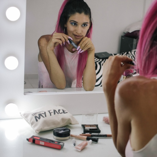 Makeup review haul elf, nyx, la girl, klean color, matte lipstick PERU (13)