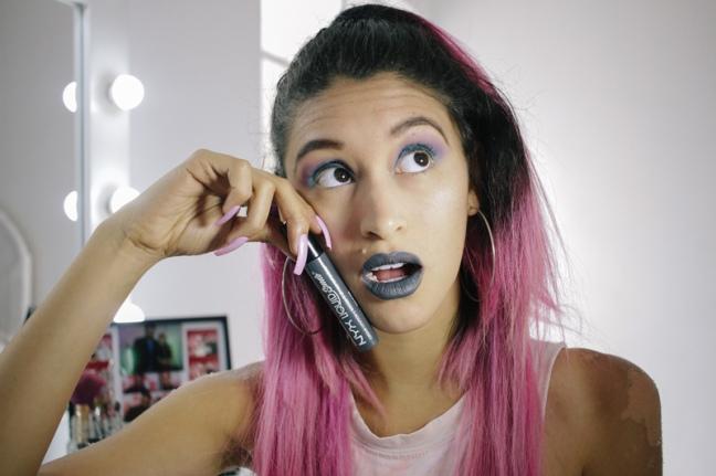 Makeup review haul elf, nyx, la girl, klean color, matte lipstick PERU (4)