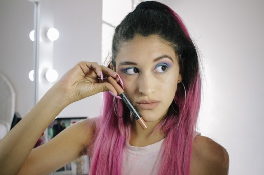 Makeup review haul elf, nyx, la girl, klean color, matte lipstick PERU (5)