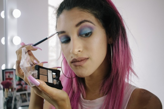 Makeup review haul elf, nyx, la girl, klean color, matte lipstick PERU (9)