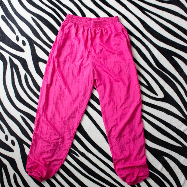 80s 90s Sporty pants ON SALE FAUX STORE by delilacblog (1)