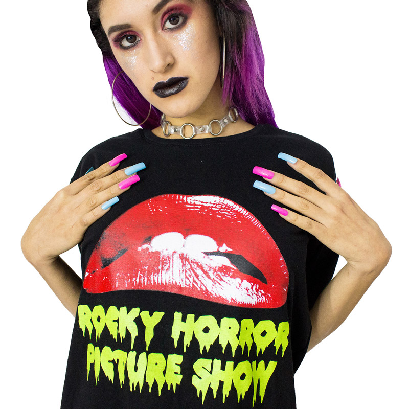 ROCKY HORROR POLO FAUX STORE by delilacblog