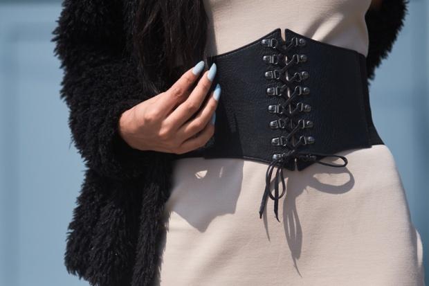 Vestido NUDE básico y 3 formas distinas de usarlo delilac (4)