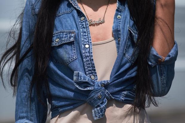 Vestido NUDE básico y 3 formas distinas de usarlo delilac (7)