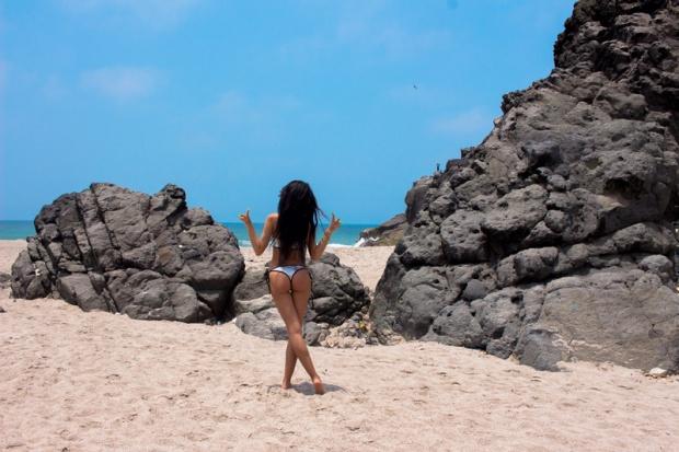 Sequins bikini silver glitter yoins shopping experience delilac andrea chavez (5)